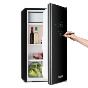 Spitzbergen Uni Refrigerator 90 l A + 2 Levels Ice Compartment Black Black | 90 Ltr