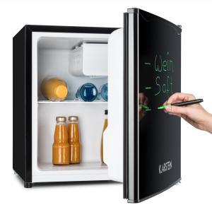 Réfrigérateur 40L A+ 2 étagères bac à glace congélateur marqueur - noir Noir | 40 Ltr