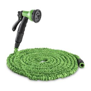 Water Wizard 15 Elastyczny wąż ogrodowy8 funkcji 15 m zielony Zielony | 15 m