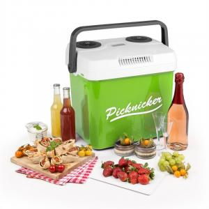 Picnicker XL Thermo Coolbox 32L A++ AC DC Car green Green | 32 Ltr