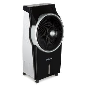 King Cool luchtkoeler klimaatapparaat ventilator ionisator - zwart/zilver Zwart