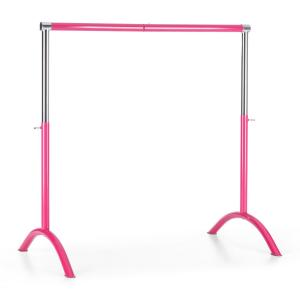 Bar Lerina Balley Bar mobile 110x113cm height adjustable steel pink Pink