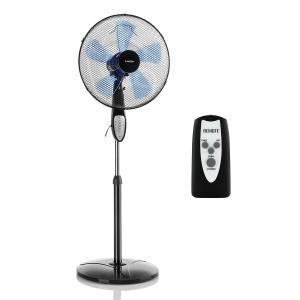 Summerjam Standing Fan 41cm 50W 3 Steps Black Black