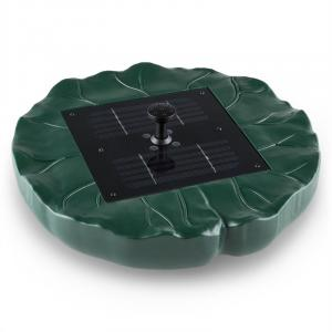 Waldbeck Sunfountain Fountain Solar Water Lily 4 Fountains Remote Control LED
