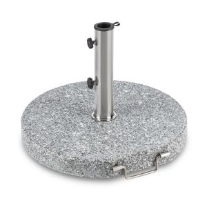 Schirmherr 30RD Solparasollställ 30 kg Balkong Granit Grå Rund