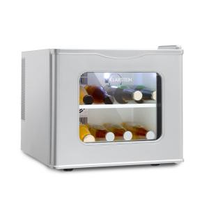 Winehouse Mini Bar 17 Litres 60 W Class A ++ 38 dB Glass Door Silver Silver