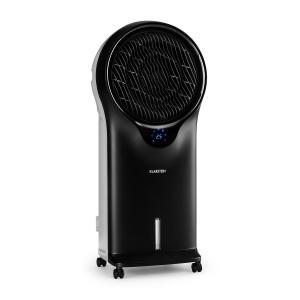 Whirlwind 3-in-1 Luftkühler Ventilator Luftbefeuchter 1600 m³/h | 90 Watt | 5,5 Liter | 3 Geschwindigkeiten | Oszillation | mobil | Fernbedienung Schwarz