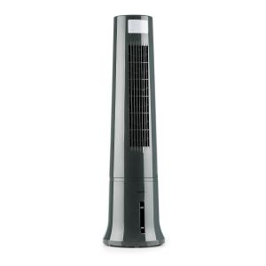 Highrise Fan Air Cooler Air Humidifier 35W 2.5L Ice Pack Grey Grey