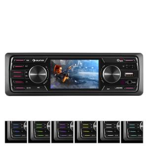 "MD-550BT autoradio / moniceiver zonder dek BT USB SD 3"" TFT AUX afstandsbediening"
