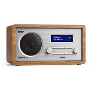 Harmonica DAB+/FMRadio Doppio Allarme AUX LCD Noce