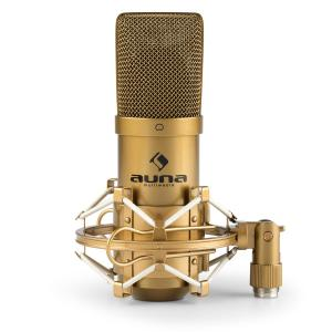 MIC-900G USB Condenser Microphone Cardioid Studio Gold Gold | Gold