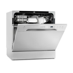 Amazonia 8 Dishwasher Mini Dishwasher A + 1620W Silver Silver