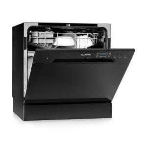 Amazonia 8 afwasmachine mini-vaatwasser A+ 1620W - zwart Zwart