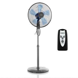Summerjam Stand Fan 41cm 50W 3 Steps Grey Grey