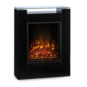 Studio 5 Electric Fireplace Fan Heater 900/1800 W Black Black