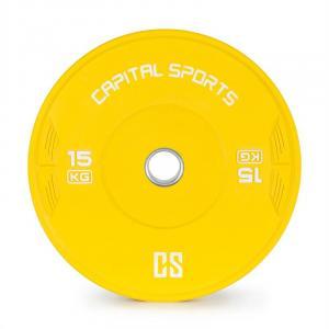 Nipton Bumper Plate Gewichtsplatte | 1 x 15kg | Hartgummi  15 kg