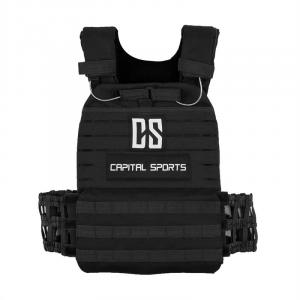 Battlevest Weight Vest with 2 x 2 weights 5.75 & 8.75 lbs Black Black