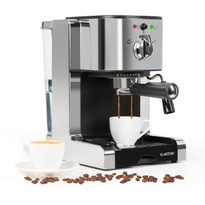 Passionata 15 espressomachine 15 bar capuccino melkschuim zilver Zilver