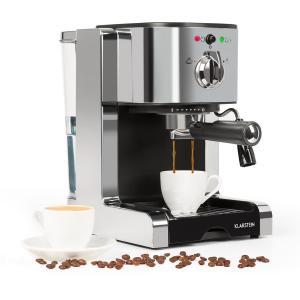 Passionata 20 espressomachine 20 bar capuccino melkschuim zilver Zilver