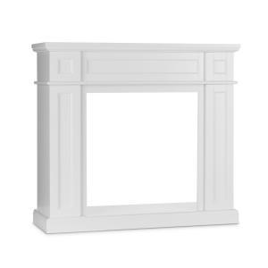 Lausanne Frame Corps de cheminée MDF design classique blanc