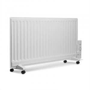 Wallander Oil Radiator 1000 W Thermostat Oil Heater Ultra Slim White White | 1000 W