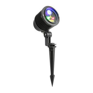 Outdoor-Laser Multipoint 3W RGB LED IRC Fernbedienung Erdspieß