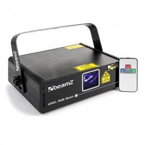 Ariel showlaser 350W RGB 9-DMX Master/Slave IR-afstandsbediening