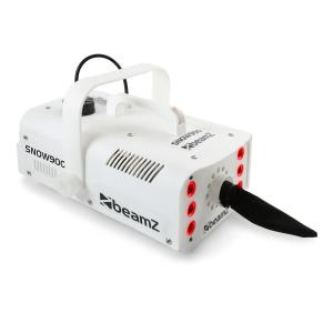 Snow 900 LED sneeuwmachine 3-in-1 LED's 1L tank afstandsbediening wit