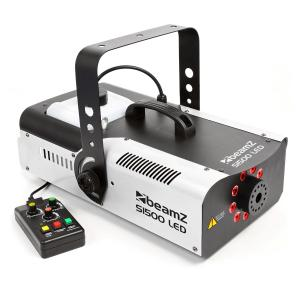S1500LED Machine à fumée 1500W LED RVB DMX réservoir 2,5L