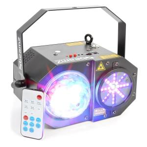 Sway 3-in1-LED Jellyball With Laser and LED Organ RGBW LEDs 150mW-RG Laser