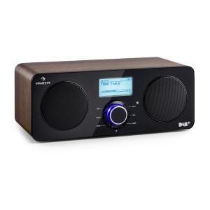 Worldwide Stereo Internet Radio Spotify Connect App Control BT Walnut Walnut