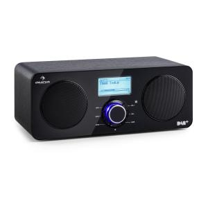 Worldwide Stereo Internet Radio Spotify Connect App Control BT Black Black