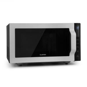 Brilliance Roomy Microwave 900W 25l 6 Power Levels Grill Silver 25 Ltr