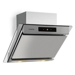 Balzac 60 Cooker Extractor Hood 60 cm 210W 640m³ / h LED Touch Stainless Steel Glass