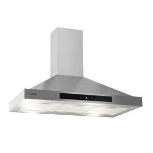 Zelda 90 Extractor Hood 210W 3 Levels 650m³/h LED EEC: B Stainless Steel 90 cm