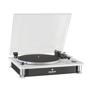 TT-933 Record Player 33/45 rpm Pitch Control black silver