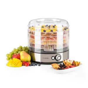 Fruitower M Dehydrator 35 -70°C 5 trays 200-240WBrushed Stainless Steel Chassis 5 stages