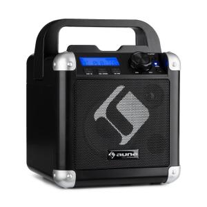 BC-1 Karaoke System Bluetooth Battery Carrying Handle USB AUX-In Black