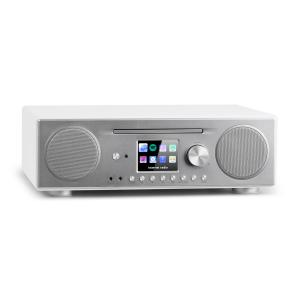Connect CD Radio de internet Reproductor multimedia BT MP3 DAB+ Spotify Connect Radio blanco Blanco
