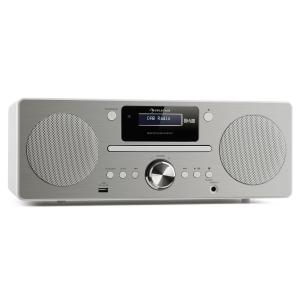 Harvard Mini Audio System DAB/DAB+ FM Tuner CD Player USB Charger white White