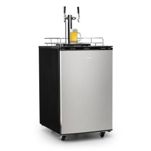 Big Spender Double Refrigerador de barriles de cerveza grifo doble Juego completo CO2 Barriles de hasta 50l