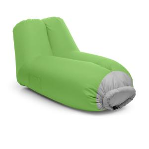 Airlounge Air Sofa 90x80x150cm Backpack Washable Polyester Green Green