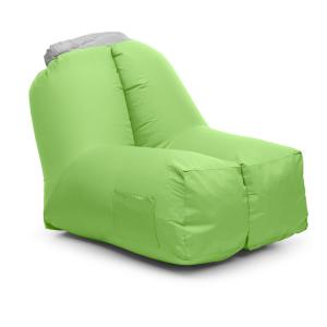 Airlounge Air Chair 90x80x150cm Backpack Washable Polyester Green Green
