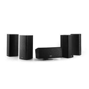 Ambience 5.0 luidsprekersysteem incl. 30 m kabel - zwart Zwart