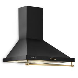 Montblanc 60 Hotte aspirante 60cm 610 m³/h 165 W 2 x 1,5W LED -noir Noir