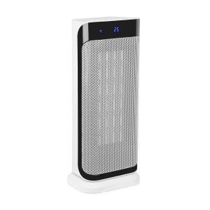 Chaval calefacción vertical 2.000 W termostato timer mando a distancia blanco