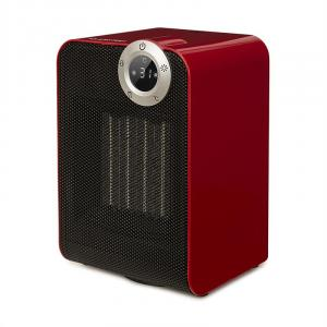 Cozy Cube keramische verwarming 900/1800W zwenkfunctie timer 10-35°C rood Rood