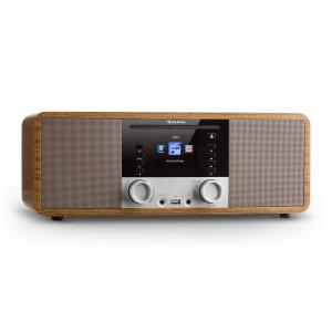 IR-190 InternetRadio CD-Player WiFi UPnP USB Remote ControlWalnut Walnut