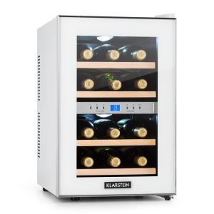 Reserva Wine Cooler 34l 2 Cooling Zones 12 Wine Bottles 11-18 °C white