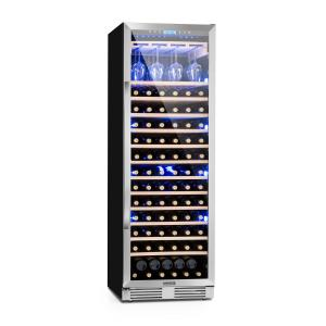 Vinovilla Grande Large Capacity Wine Refrigerator 425l 165 Bottles 3-Colour Glass Door 425 Ltr | 1 cooling zone